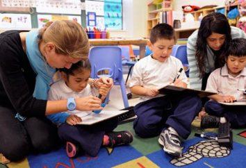 O que faz um professor assistente em um jardim de infância?