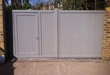 Comment choisir la bonne porte pour la clôture en bois et d'autres matériaux