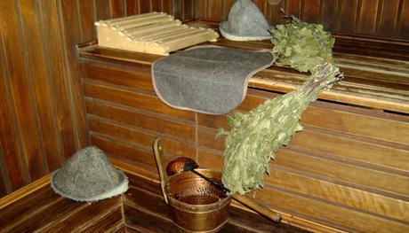 Bagno scopa di betulla. La raccolta per il futuro