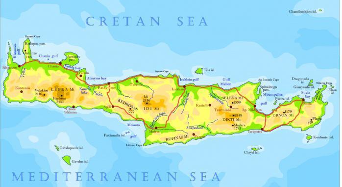 Kreta Karte Mit Sehenswürdigkeiten.Georgioupolis Kreta Sehenswürdigkeiten