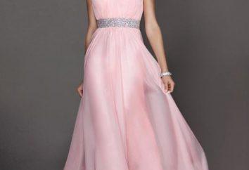 Kleid in rosa Boden – ein Modell für romantische Personen