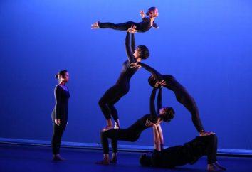 Acrobatie: types, classification. exercices acrobatiques en cours d'éducation physique
