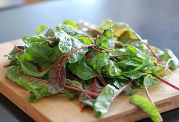 hojas de remolacha. Recetas con hojas de remolacha