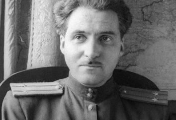 """La storia della creazione e l'analisi della poesia """"Patria"""" Simonov"""