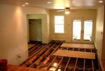 Wie von unten durch sich selbst den Boden des Holzhauses zu isolieren?