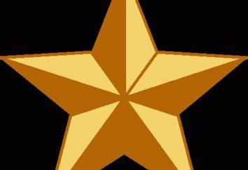 stella a cinque punte: migliaia di valori di carattere