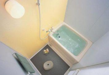Kąpiel dla małych łazienek: co powinno być?