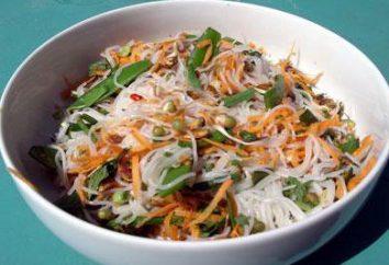 Salade de nouilles de riz. Salade de nouilles de riz: Recette