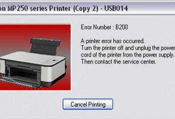 Error de impresora Canon B200: posibles causas y soluciones