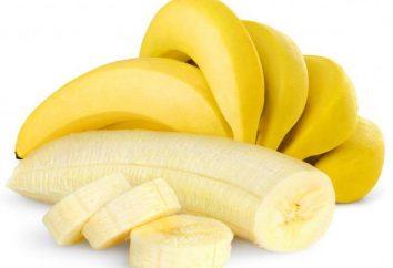 Banany są stałe lub luźne stolce u dorosłych, u niemowląt, karmienie piersią?