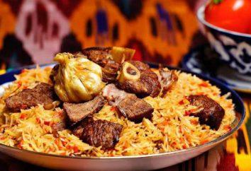 kuchnia uzbecka: cechy. Przepis obecny Uzbekistan pilaw