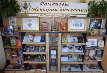 Listas de referência de literatura em bibliotecas: nomes e design