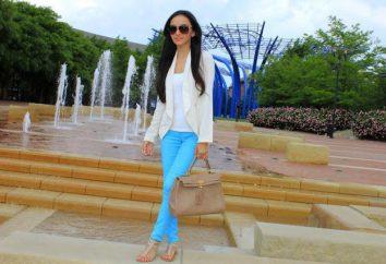 De quoi porter un pantalon turquoise: les tendances de la mode, des idées intéressantes et recommandations