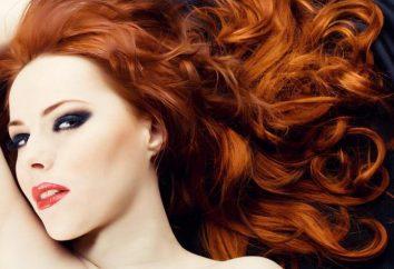 """Colore dei capelli """"cannella"""": chi è adatto per l'uso delle raccomandazioni della vernice, le ricette di tintura di henné"""