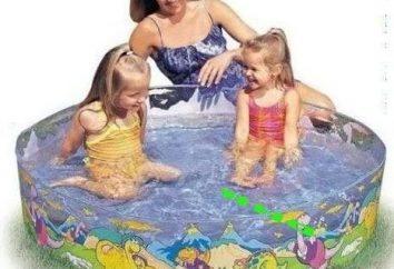 Choisissez une piscine gonflable avec toboggan pour les enfants