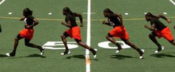 Course navette 3×10: performance technique, l'utilisation pour le développement physique