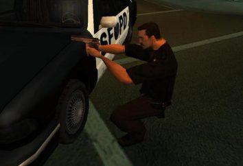 """Uma variedade de códigos para o """"GTA: San Andreas"""" na polícia"""
