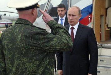 rango militar de Putin