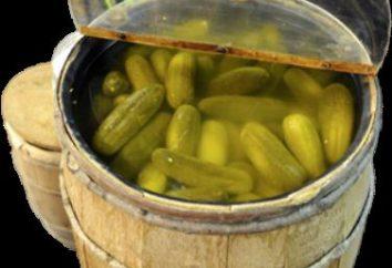 recette détaillée concombre de décapage dans le cylindre