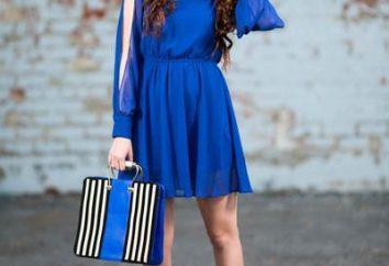 Lekcje dobrego stylu: w co się ubrać w niebieskiej sukience?