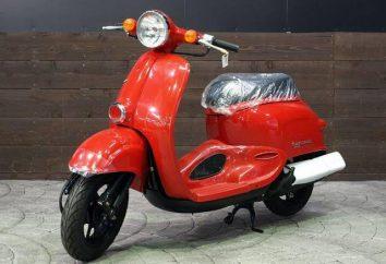 Honda Giorno – elegancki styl w każdym szczególe
