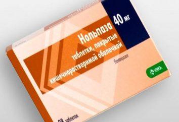"""Le médicament """"Nolpaza"""": avis, instructions, mises en garde"""