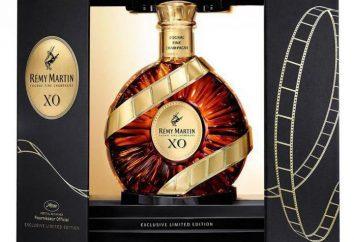 Gute Cognac in Geschenk an den Menschen. Wie ungewöhnlich in einem Geschenk für den Mann eine Flasche Cognac gepackt?