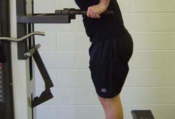 Effectuer des exercices aux barres asymétriques