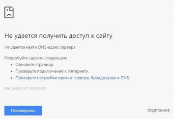 Nie można uzyskać dostępu do witryny YouTube: połączenie zresetowane
