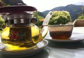 chá Mursalian: características e propriedades úteis