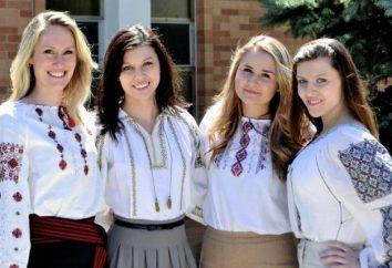 couleur élégante – broderie ukrainienne pour les filles