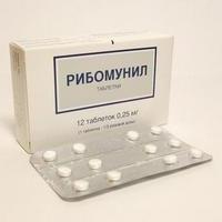 """Ribomunil"" Medikamente. Gebrauchsanweisung"