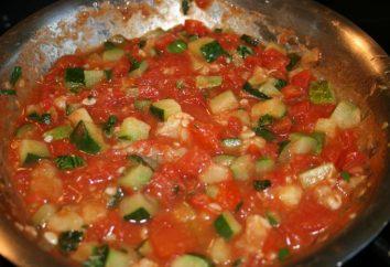 Zucchine in salsa di pomodoro: ricette di cucina