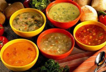 Quali sono le zuppe? tipi di zuppe