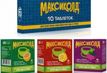 """""""Maxicold"""": Gebrauchsanweisung. """"Maxicold"""" (Spray): Gebrauchsanweisung für Kinder"""