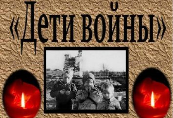 Dzieci wojny: kto należy do tej kategorii w Rosji?