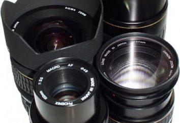 Une comparaison est faite de lentilles de différentes marques