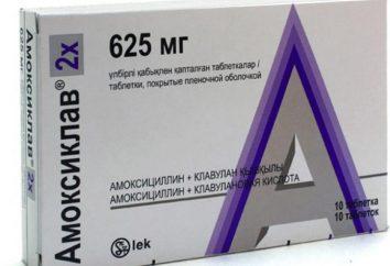 """""""Amoxiclav 625"""": istruzioni per l'uso, revisioni, analogo"""