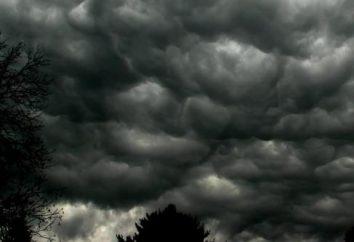 aviso de tempestade: as condições e características
