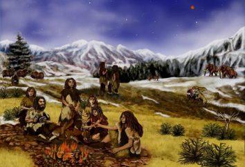 Os povos antigos no território da Rússia moderna: a mesa. Povos e Estados antigas no território da Rússia