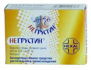 """Lek """"Negrustin"""": Przegląd konsumentów i lekarzy, skład, sposób stosowania"""