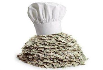 Cómo cocinero gana en promedio en Rusia?