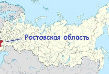 La position géographique de la région de Rostov: les caractéristiques et particularités