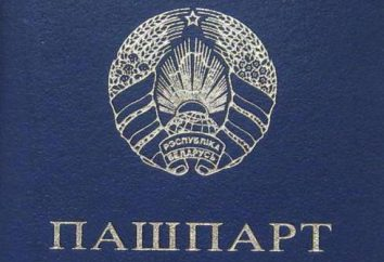 passaporte bielorrusso: série, número, recepção, troca