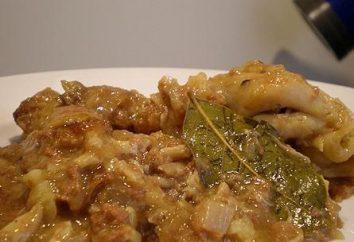 Pollo guisado en casa: la receta y Beneficios