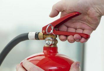 Gaśnica, automatyczne gaśnice: wybór cech, zalet i wad