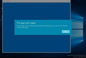 Application ou un fichier ne peut pas être ouvert en utilisant le compte administrateur intégré est: ce qu'il faut faire?