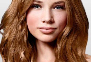 Cor de cabelo dourado universal