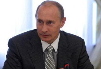 O presidente russo. estatuto constitucional e legal do chefe de Estado