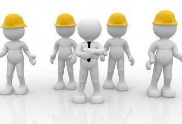A organização, método e calendário da avaliação especial das condições de trabalho